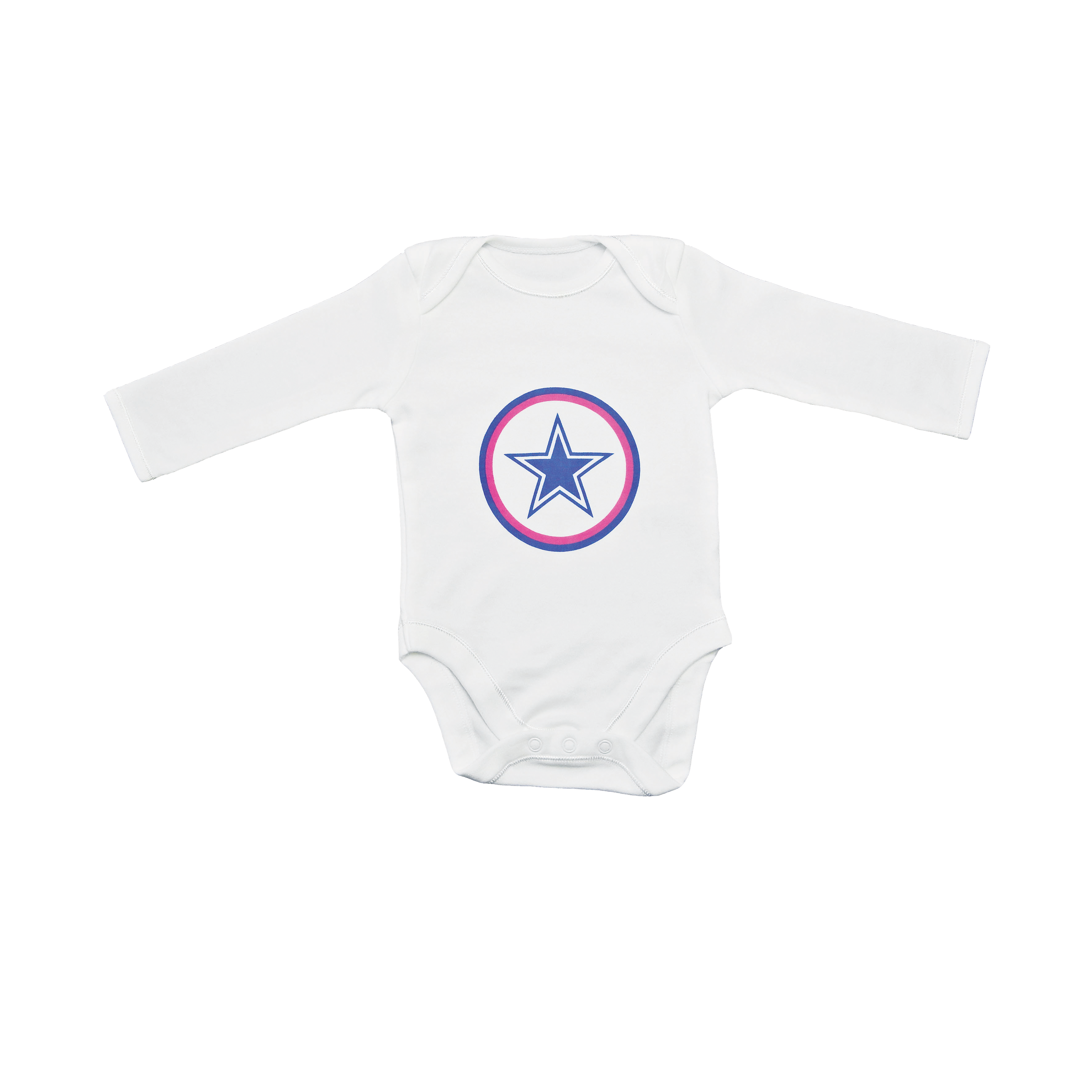 Baby bodysuit star